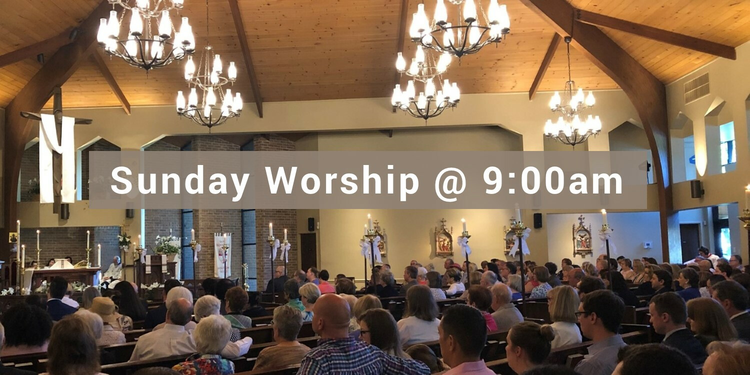 9am Holy Eucharist - In person and online